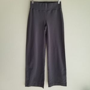 Lululemon grey wide leg 6